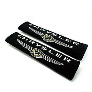 - 2pcs Seat Belt Cotton Seatbelt Shoulder Pad Cover Accessories Car Products Compatible Fit For USA Auto Model Chrysler