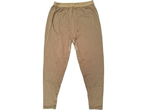 (USMC Genuine Issue Coyote Brown Grid Fleece Under Pants (3X-Large Long))