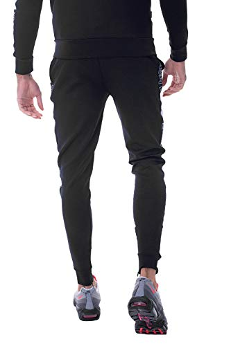 Optum 11 Poly Joggers Homme Noir Degrees RE0x1S6q