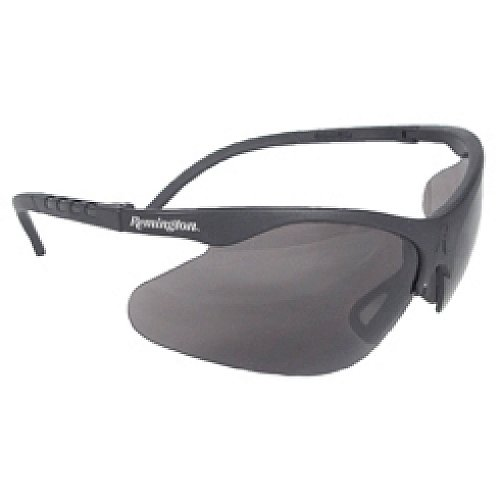 Remington T-74 Safety glasses, Smoke Anti Fog Lens, Black Frame, - Remington Glasses