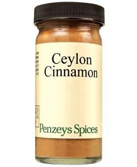 Ceylon Cinnamon Ground By Penzeys Spices 1.6 oz 1/2 cup jar