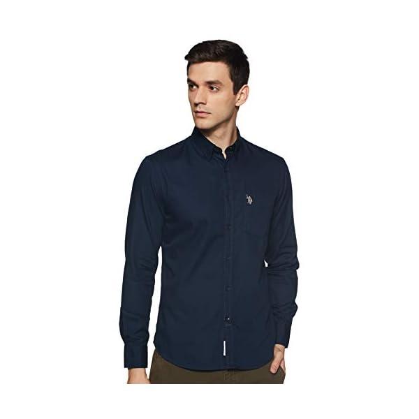 US Polo Association Men's Regular fit Casual Shirt | CARROBUY ...