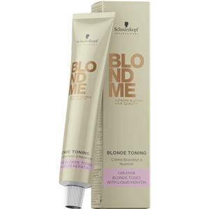 Schwarzkopf BLOND ME Blonde Toning ice 60 ml (Best Hair Toner For Bleached Hair)