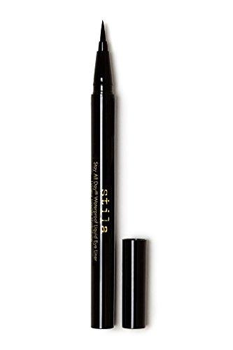 Stila Stay All Day Waterproof Liquid Eye Liner, Intense Black (Jet Black)