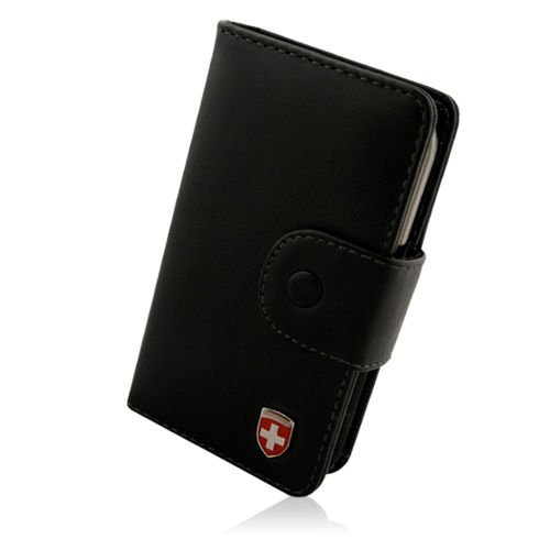 Swiss Leatherware Bank Case - PDA and Smart Phones - iPhone, Blackberry, HTC, Samsung, LG, Motorola, and Nokia (Swiss Evo)
