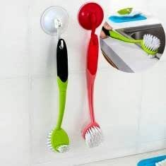 Plastic Soft Remover Scrubber Kitchen Cleaning Brush Dish Brush Home