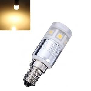 E14 3W Warm White 11SMD 5050 LED Corn Light Bulbs 90-265V