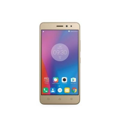 Lenovo K6 Smartphone 12,7 (5 Zoll) Display (16 GB, Android) gold