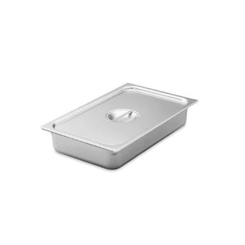 Vollrath (75130) Super Pan V Steam Table / Hotel Pan Cover (1/3 Size, Stainless ()