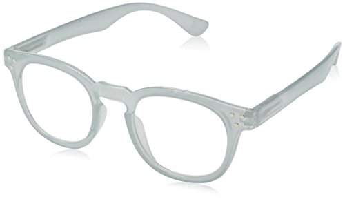 A.J. Morgan Unisex-Adult Cause - Power 1.00 40154A Square Reading Glasses, GREY, - Eyeglasses Power