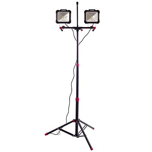 Husky Wider, Brighter Light Angle 5000-Lumen Twin-Head LED W
