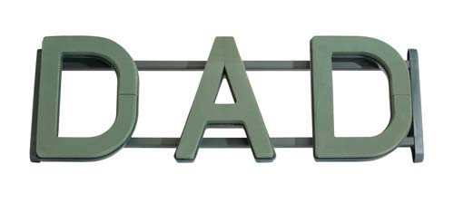 1071 Oasis Floral Frame, Dad (Box of 2) by OASIS Floral Products (Image #1)