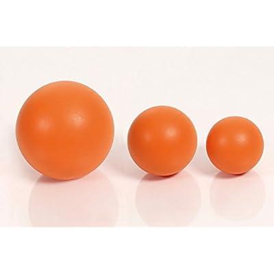Togu Uni ACTI Relax Lot de 3fascia Massage Ball Orange, S 6cm, M 8cm, L Diamètre: 12cm