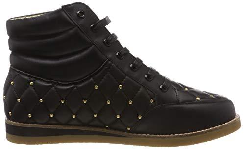 Lola Donna black Ramona Sneaker A Cecilia Nero Collo 24 Alto xCxrBwq