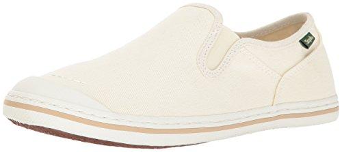Simple Canvas Sneakers (Simple Women's Swan Fashion Sneaker, White, 9 M US)