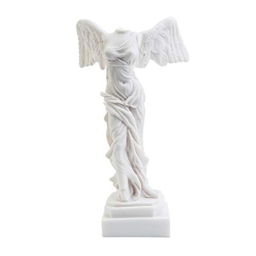 (Delphis Alabaster Winged Victory of Samothrace 6.3 inch)