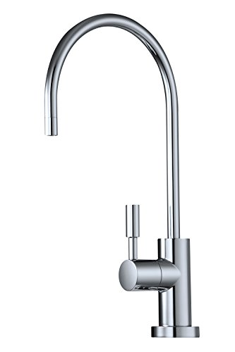 Avanti Designer Kitchen Bar Sink Reverse Osmosis RO Filtration Drinking Water Faucet - NSF certified, ceramic disk, lead-free, non-air gap - RF888-CP Polished (1/4 Turn Ceramic Disc)