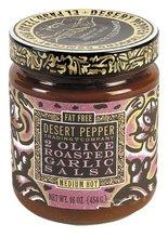 Desert Pepper Salsa Two Olive Roasted Garlic, 16 oz