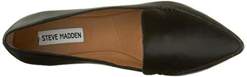 Steve Madden Women's Feather Loafer Flat