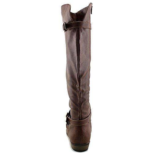 Capri Knie-hoge Boot Cognac Van Materiaal Meisje Dames