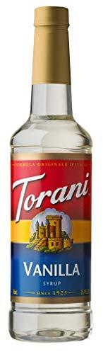 Torani® Vanilla Syrup (750 mL /25.4 oz ) (Syrup Torani Flavor)
