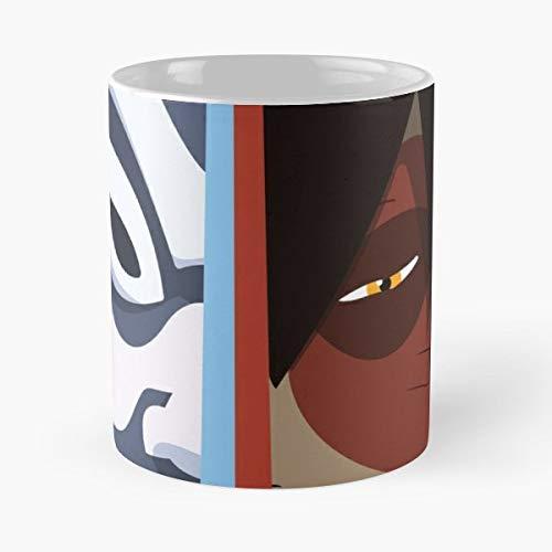 Avatar The Last Airbender Blue Spirit Zuko -funny Gifts For Men And Women Gift Coffee Mug Tea Cup White-11 Oz. (Avatar The Last Airbender The Blue Spirit)