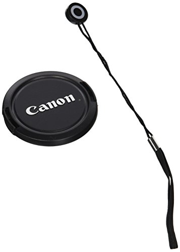 CowboyStudio 58mm Lens Cap Snap-On for Canon Rebel (T4i T3i T3 T2 T2i T1i XT XTi) and Canon EOS (1100D 650D 600D 550D 500D 450D 400D 350D) with Lens Cap Holder