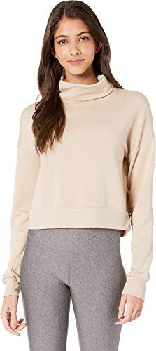 - Beyond Yoga Women's All Time Cropped Pullover Tiki Tan Small