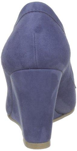 Atelier Voisin Lapt Damen Pumps Blau - Bleu (Suede Bleu 6493)