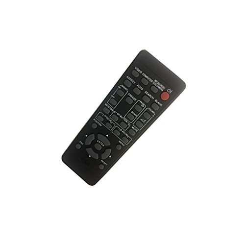 4EVER Replacment remote control for Hitachi HCP-Q55 PJ-LC2001 CP-X270 CP-S317W CP-S318 CP-S317WA CP-S317 CP-D20 HCP-Q51 HCP-Q71 HCP-A83 HCP-A85W projector by 4EVER E.T.C