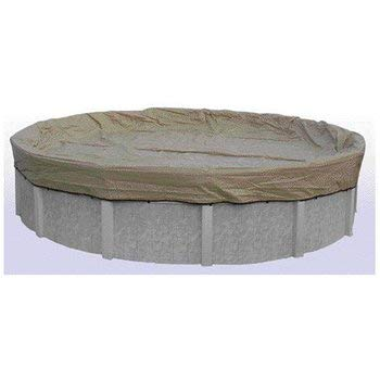 Hinspergers AK24R4 ArmorKote Pool Winter Cover for 24' Above Ground Armorkote Winter Pool Cover