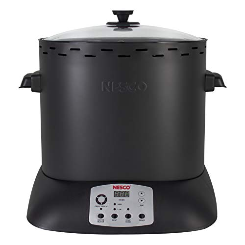 NESCO ITR-01-13 Upright Turkey Roaster, Medium, Black