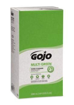 GOJO 7565-02 Multi Green Hand Cleaner, 5000mL Refill for GOJO Pro TDX Dispenser, Pack of 2