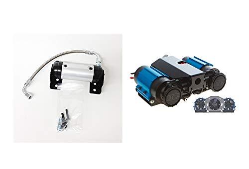 ARB 4X4 Accessories High Performance Twin Air Compressor 12 Volt Bundle W/Air Locker Manifold Kit