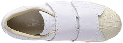 W Ftwr Superstar White S17 Cf adidas White Gymnastikschuhe Ftwr Elfenbein Linen Damen 80s wzpn5nOIq