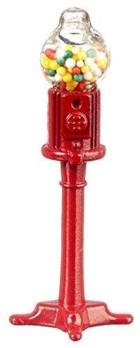 Dollhouse Miniature Gumball Machine by International Miniatures