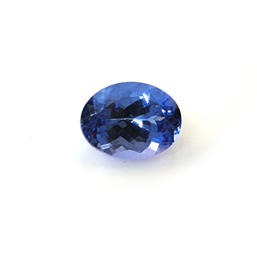 - AA Quality Natural Tanzanite Oval Shape 8x6mm Approximately 1.48 Carat Single Piece (12298)