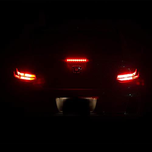 Xotic Tech 2X 7443 7444 Flashing Strobe Light, Hyper Flash Red LED Bulb for  Honda Accord 2011-2017 Brake Stop Tail Waring Light