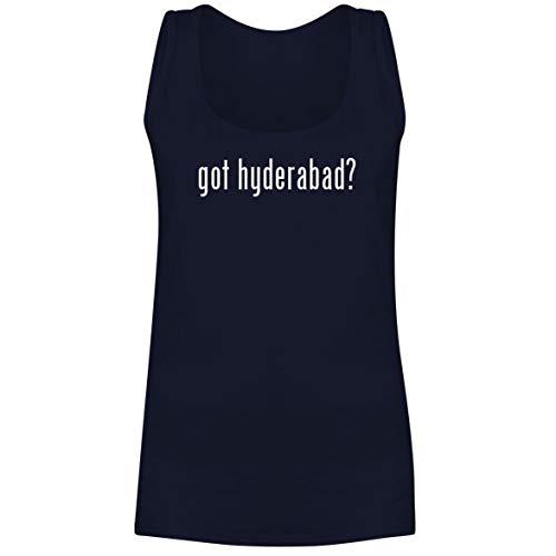 The Town Butler got Hyderabad? - A Soft & Comfortable Women's Tank Top, Navy, XX-Large