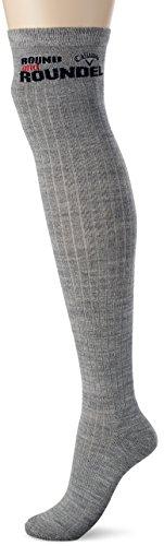 (キャロウェイ アパレル) Callaway Apparel 保温性 リブニット ニーハイ ソックス (ホットレイ採用 保温性 ソフト性) 靴下 ゴルフ / 241-7285806 [ レディース ]