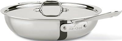All-Clad 8701005075 Pan 4 Quart Silver