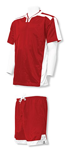 Winchester soccer uniform kit with your player number - size Youth M - color Red/White