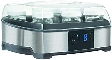 Cuisinart YM400E 2 en 1: Yogurtera & Quesera, 1000 W, 0.75 litros, Acero Inoxidable, Gris