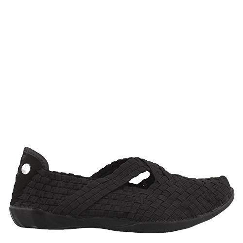 Bernie Mev Women's, Margo Slip on Shoes (38 M EU, Black)