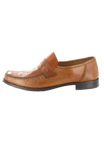FRETZ men Sale Herren Mokassin - Braun Schuhe in Übergrößen