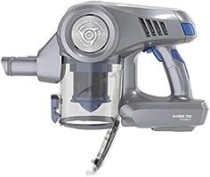Hoover HF722PTLG Aspiradora escoba sin cable, Cepillo especial pelo de mascotas, Antialergias, Batería extraíble litio 22V, 35min, 0,7L, Luces LED, 3 Velocidades, Tecnología H-Spin Core, Gris/Azul: Hoover: Amazon.es: Hogar