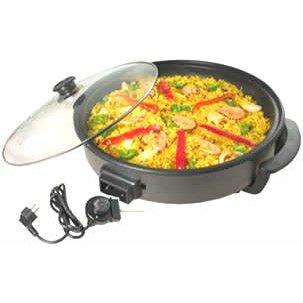 Sarten Electrica Multifuncional Pizza Pan 40 cm: Amazon.es: Hogar