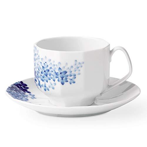 Royal Copenhagen Blomst Teacup & Saucer Lilac 7.5oz