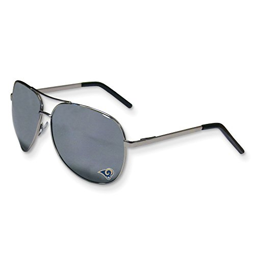Jewelry Best Seller NFL Rams Aviator Sunglasses by Jewelry Brothers Gifts