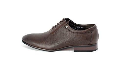 Zapatillas De Hombre Moda Cuero Italiano Buscar Oxford Estilo Tamaño RU 6 7 8 9 10 11 Café